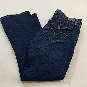 Levi's Blue Jeans, Button Back Pocket,Size 11S